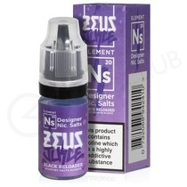 NS20 Black Reloaded Nic Salt E-liquid by Zeus Juice