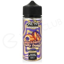 Blackberry Jelly Donut Shortfill E-Liquid by One Hit Wonder 100ml