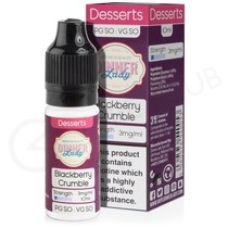 Blackberry Crumble E-Liquid by Dinner Lady 50/50