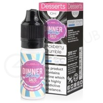 Blackberry Crumble Nic Salt eLiquid by Dinner Lady