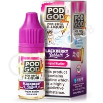 Blackberry Sabbath eLiquid by Pod Godz