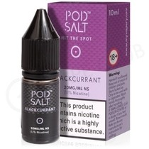 Blackcurrant Nic Salt E-Liquid by Pod Salt