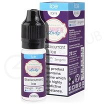 Blackcurrant Ice E-Liquid by Dinner Lady Summer Holidays 50/50
