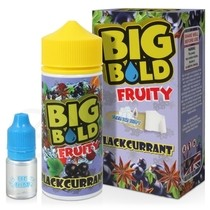 Blackcurrant Shortfill E-Liquid by Big Bold 100ml