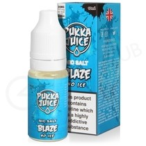 Blaze No Ice Nic Salt eLiquid by Pukka Juice