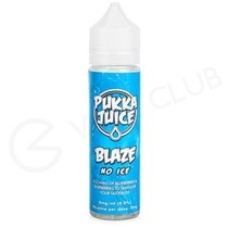 Blaze No Ice Shortfill E-Liquid by Pukka Juice 50ml