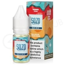 Blood Orange On Ice Nic Salt E-Liquid by SQZD