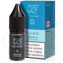 Blue Berg Nic Salt E-Liquid by Pod Salt