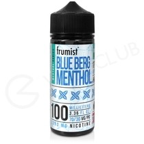 Blue Berg Shortfill E-Liquid by Frumist Menthol 100ml