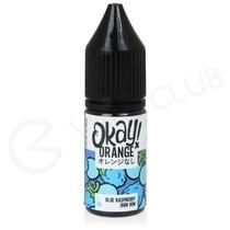 Blue Raspberry Bon Bon Nic Salt E-Liquid by Okay Orange