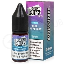 Blue Raspberry Chilled Nic Salt E-Liquid by Moreish Puff
