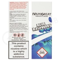 Blue Raspberry E-Liquid by IVG 50/50