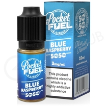 Blue Raspberry E-Liquid by Pocket Fuel 50/50