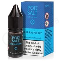 Blue Raspberry Nic Salt E-Liquid by Pod Salt