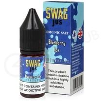 Blue Raspberry Nic Salt E-Liquid by Swag Jus