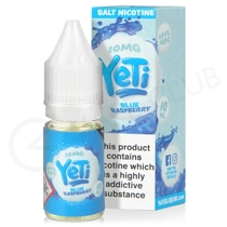 Blue Raspberry Nic Salt E-Liquid by Yeti