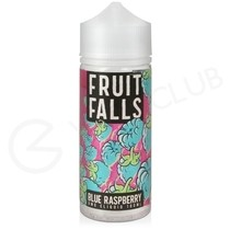 Blue Raspberry Shortfill E-Liquid by Fruit Falls 100ml