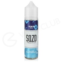 Blue Raspberry Shortfill E-Liquid by SQZD 50ml