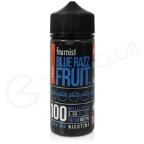 Blue Razz Shortfill E-Liquid by Frumist Fruits 100ml