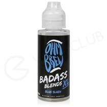 Blue Slush Shortfill E-Liquid by Ohm Brew Badass Blends XL 100ml