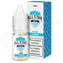 Blueberg Nic Salt E-Liquid by All Star