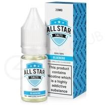 Blueberg Nic Salt E-Liquid by All Star