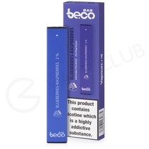 Blue Razz Beco Bar Disposable Device