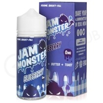 Blueberry 100ml Shortfill by Jam Monster