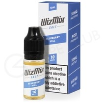 Blueberry Hill Nic Salt E-Liquid by Wizmix