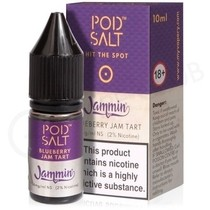 Blueberry Jam Tart Nic Salt E-Liquid by Pod Salt & Jammin