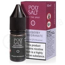 Blueberry Pomegranate Nic Salt E-Liquid by Pod Salt
