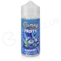 Blueberry Shortfill E-Liquid by Ramsey Fruits 100ml