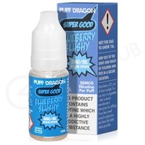 Blueberry Slushy eLiquid by Puff Dragon