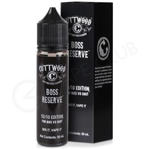 Boss Reserve Shortfill E-Liquid by Cuttwood 50ml