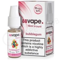 Bubblegum E-Liquid by 88Vape