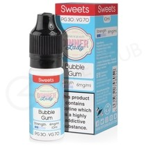 Bubblegum E-Liquid by Dinner Lady 70/30