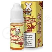 Bubblegum Juicyfroot Nic Salt E-Liquid by X Series