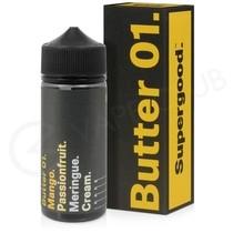 Butter 01 Shortfill E-Liquid by Supergood 100ml