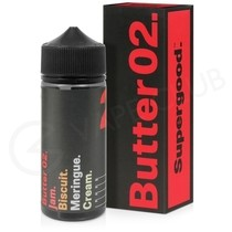 Butter 02 Shortfill E-Liquid by Supergood 100ml