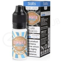 Cafe Tobacco Nic Salt E-Liquid by Dinner Lady