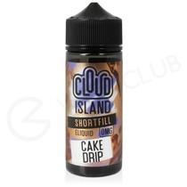 Cake Drip Shortfill E-Liquid by Cloud Island 100ml