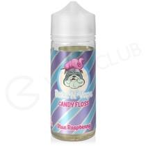 Candy Floss Blue Raspberry Shortfill E-Liquid by Bake N Vape 100ml