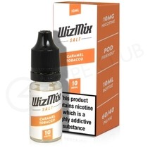 Caramel Tobacco Nic Salt E-liquid by Wizmix