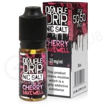 Cherry Bakewell Nic Salt E-Liquid by Double Drip