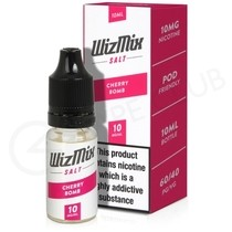 Cherry Bomb Nic Salt E-liquid by Wizmix