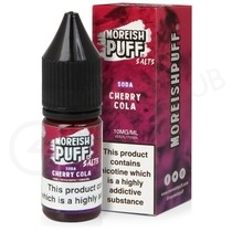 Cherry Cola Soda Nic Salt E-Liquid by Moreish Puff