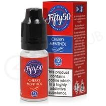 Cherry Menthol E-Liquid by Fifty 50