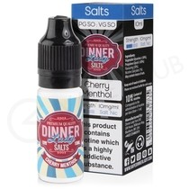 Cherry Menthol Nic Salt E-Liquid by Dinner Lady