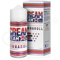 Cinnaroll 100ml Shortfill by Cream Team