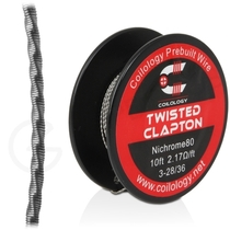 Coilology Twisted Clapton 10ft Wire Reel